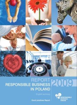 """Responsible business in Poland 2009. Good practices"" Report summary"