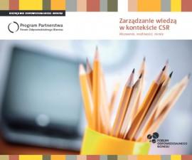 Zarządzanie wiedzą w kontekście CSR. Wyzwania, możliwości, trendy