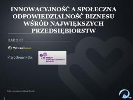 Zrównoważona innowacyjność w polskich przedsiębiorstwach