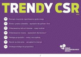 Trendy CSR 2013