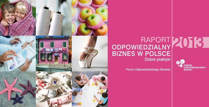 Raport odpowiedzialny biznes w Polsce 2013