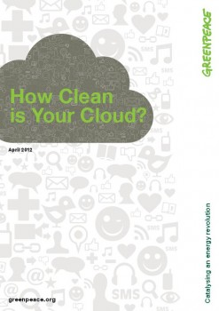 How Clean is Your Cloud 2012