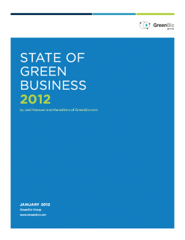 State of Green Business Report 2012