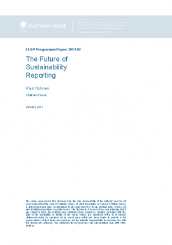 """Raport """"The Future of Sustainability Reporting"""""""
