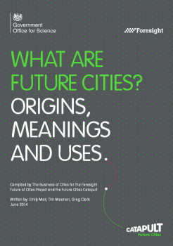 """Raport """"What are """"future cities""""? Origins, meanings and uses."""""""