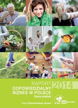 """Raport """"Odpowiedzialny biznes w Polsce 2014. Dobre praktyki"""""""