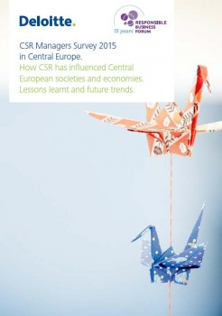 CSR Managers Survey 2015 in Central Europe. How CSR has influenced Central European societies and economies. Lessons learnt and future trends
