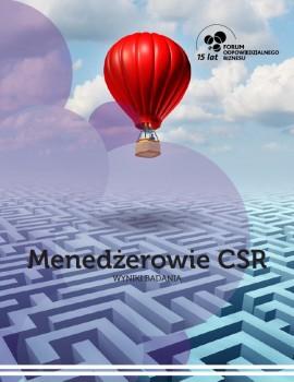 """Wyniki badania """"Menedżerowie CSR"""""""