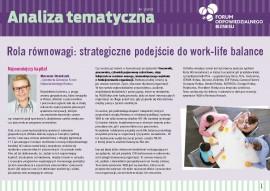 Rola Równowagi: strategiczne podejście do work-life balance
