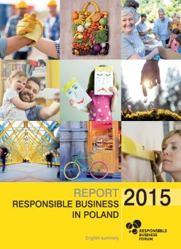 """Report """"Responsible Business in Poland 2015. Good Practices"""" – english summary"""