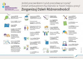 Zorganizuj dzień różnorodności! – infografika