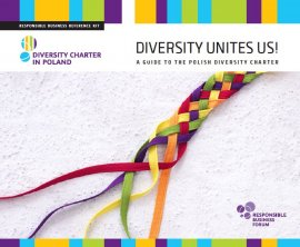 Diversity unites us! – A guide to the Polish Diversity Charter