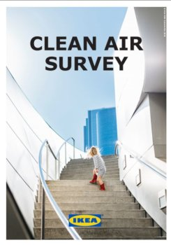 IKEA Clean air survey