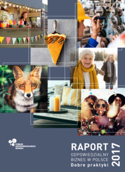 """Raport """"Odpowiedzialny biznes w Polsce 2017. Dobre praktyki"""""""