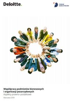 """""""Współpraca podmiotów biznesowych i organizacji pozarządowych: aspekty prawno-podatkowe"""""""