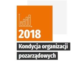 Kondycja organizacji pozarządowych 2018