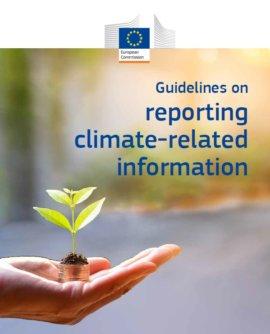 Wytyczne Komisji Europejskiej dotyczące ujawniania informacji niefinansowych związanych z oddziaływaniem na klimat