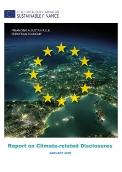 EU Technical Expert Group's report on climate-related disclosures