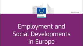 Employment and Social Developments in Europe 2019. Sustainable growth for all: choices for the future of Social Europe