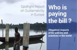 Who is paying the bill? (Negative) impacts of European policies and practices in the world