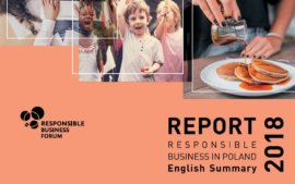 Responsible business in Poland 2018. English Summary