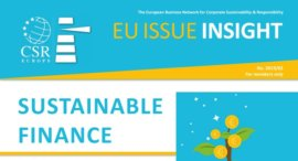 EU Issue Insight on Sustainable Finance