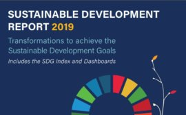 Sustainable Development Report 2019. Transformations to Achieve the Sustainable Development Goals