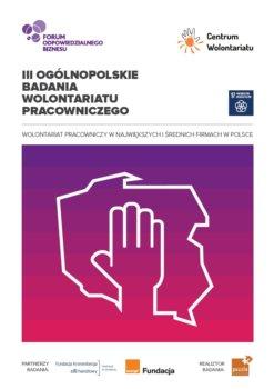 III Ogólnopolskie Badanie Wolontariatu Pracowniczego