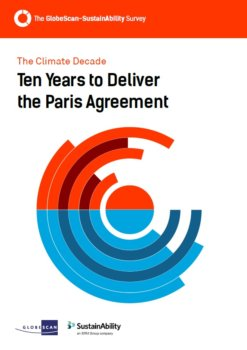 Ten Years to Deliver the Paris Agreement