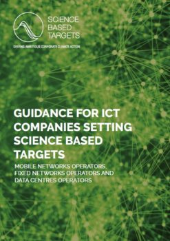 Guidance for ICT Companies setting Science-Based Targets