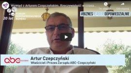 Wywiad z Arturem Czepczyńskim, prezesem ABC-Czepczyński