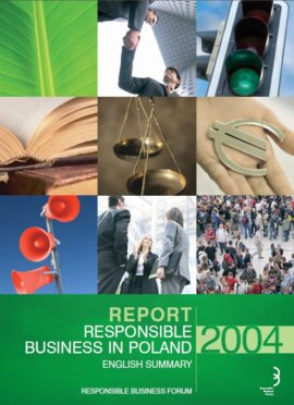 Responsible business in Poland 2004 Report – english summary