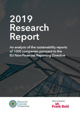 The State of Corporate Sustainability Reporting in the EU