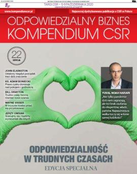 22. edycja Kompendium CSR z udziałem Marzeny Strzelczak, prezeski Forum Odpowiedzialnego Biznesu