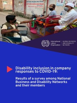 Disability inclusion in company responses to COVID-19