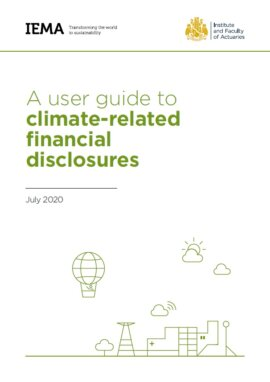 A user guide to climate-related financial disclosures