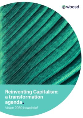 Reinventing capitalism: a transformation agenda