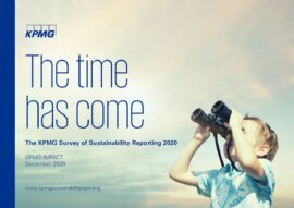 The time has come. The KPMG Survey of Sustainability Reporting 2020