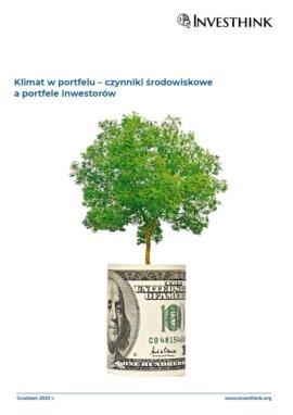 Klimat w portfelu – czynniki środowiskowe a portfele inwestorów