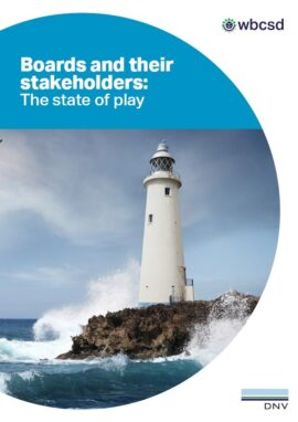 Boards and their stakeholders. The state of play