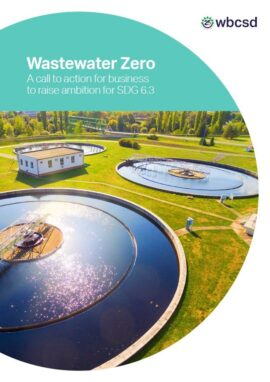 Wastewater Zero. A call to action for business to raise ambition for SDG 6.3